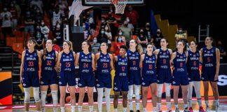 reprezentacija košarkašice srbija