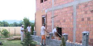 građevniski radnici zgrade majstori