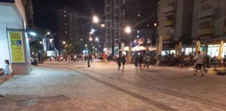 Šetalište mitrovica, noću hapšenje