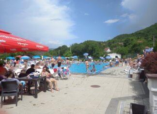 Banjska rajska banja bazen
