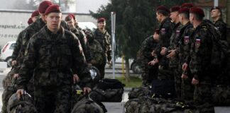Slovenija vojska vojnici KFOR