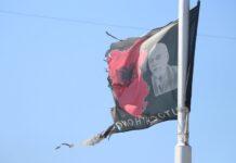 Zastave/ zastava u Južnoj Mitrovici