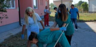 Uređivanje zdravstvenih ustanova na KiM akcija čišćenje
