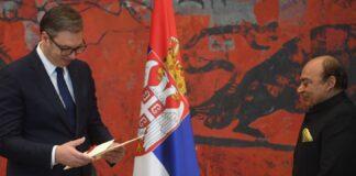 Vučić akreditivi ambasadori