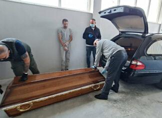Primopredaja posmrtnih ostataka nestali