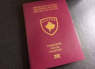 pasoš kosovo