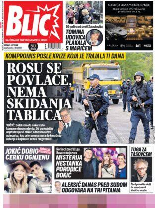 naslovnice blic
