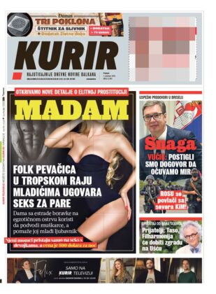 naslovnice kurir