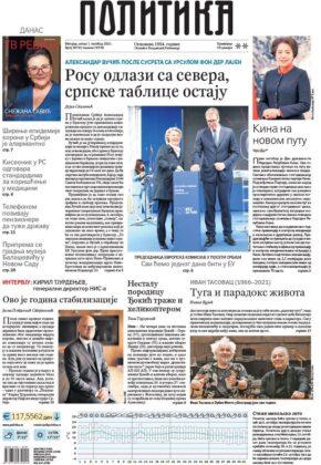 """""""Pobeda - Šiptari moraju da se povuku sa severa, niko ne sme da skida srpske registracije""""; """"Šiptari podvili rep - Rosu beži sa severa"""", """"ROSU se povlači, nema skidanja tablica"""", """"Vučić nokautirao Kurtija"""", """"Vučićeva pobeda, Kurti kapitulirao""""."""