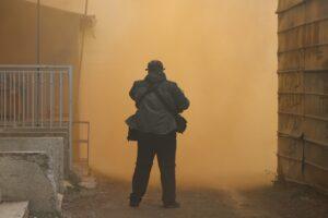 novinar teren Severna Mitrovica