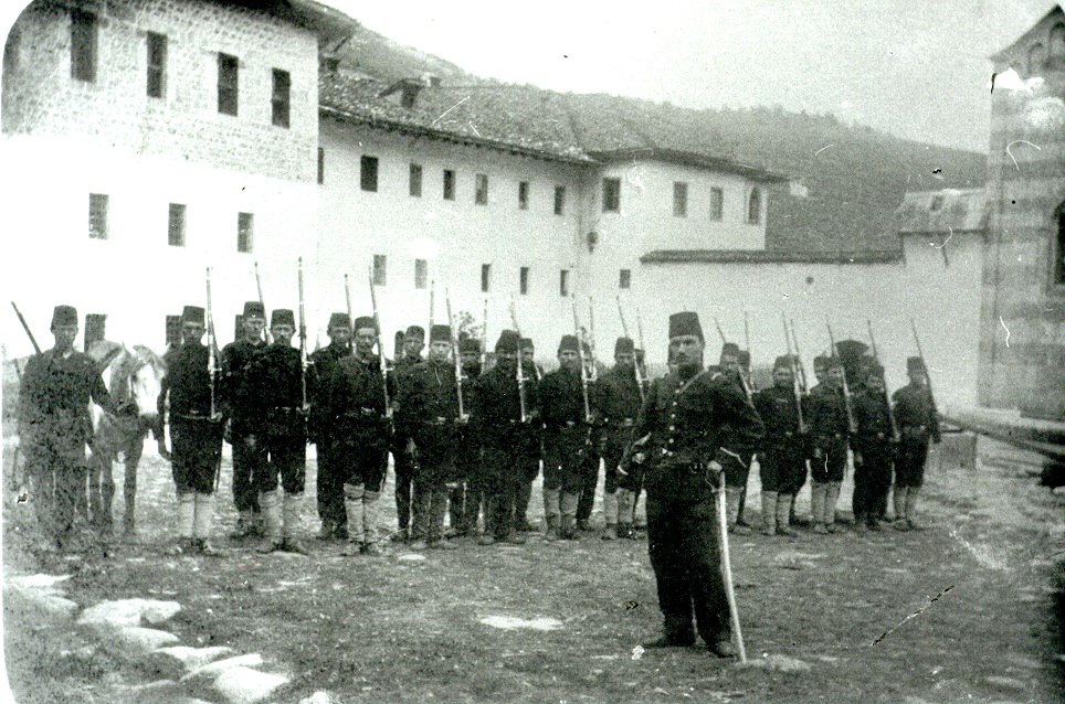 Photo: Turkish Guard in Decani, around 1905.