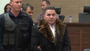 Naser Keljmendi u sudnici u Prištini