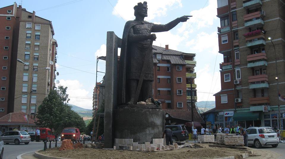 Vidovdan Sa Severa Kosova Knez Lazar Od 8 Metara S Prstom Ka